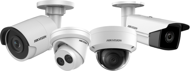 Belcentrale Security HikVision camera's
